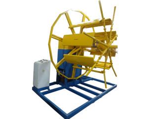 Устройство намоточное вертикальное для труб из полиэтилена диаметром от 50мм до 110мм.
