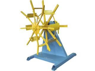 Устройство намоточное вертикальное двухпозиционное для труб из полиэтилена диаметром от 16 до 63мм.