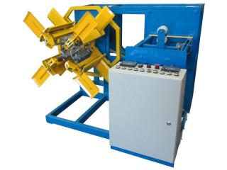 Устройство намоточное предназначено для эксплуатации в составе технологических линий для производства полиэтиленовых труб до 25 мм, шлангов и профилей.