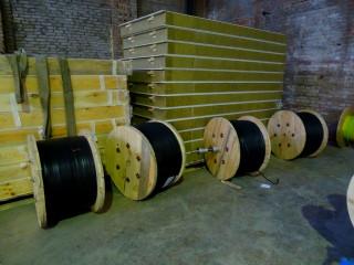 Линия для производства двух и трёх жильного плоского кабеля